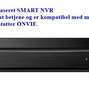 SMART NVR 8 kanaler