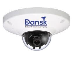 Overvågnings kamera fuld HD med farvevideo om natten ved selv meget svag oplysning